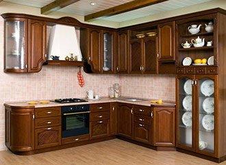 Шпонированную кухню